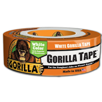 GOR-60250 - GORILLA DUCT TAPE (48MMX27M) WHITE